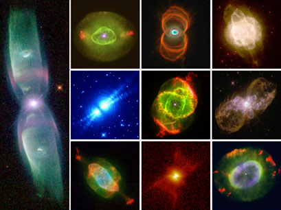 Planetary nebulae death throes of sunlike stars - Homes built from recycled materials nasas outer space challenge ...